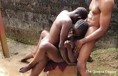 فتاة سوداء أفريقية مارس الجنس Xxl مرتين